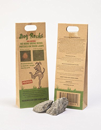 Dog Rocks Prevent Grass Burn Marks, 2 Month Supply