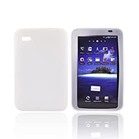 For Samsung Galaxy Tab Silicone Case Rubber Skin WHITE