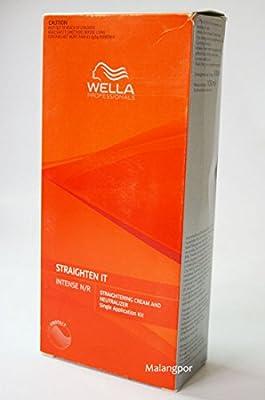 Wella Wellastrate Intense Hair Straightener - straightening cream & neutraliser