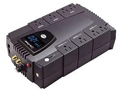 CyberPower CP685AVRLCD Intelligent LCD 685VA 390W with AVR Desktop UPS