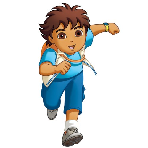 Roommates Rmk1401Gm Go Diego Go! Peel & Stick Giant Wall Decal