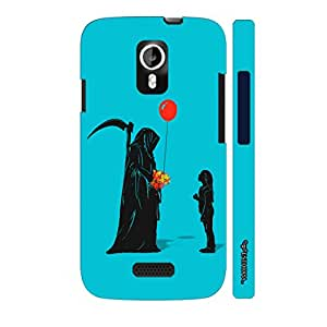 Micromax Canvas A116 Cheater Reaper designer mobile hard shell case by Enthopia
