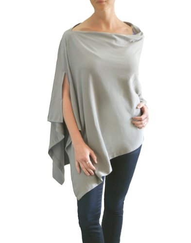 Great Deal! Bizzy Babee Nursing Cover (Grey)