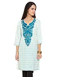 Lovely Lady Ladies Blend Straight Kurta - B00MMEIUYU