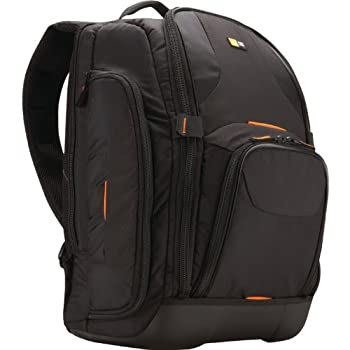 The Case Logic SLRC-206 SLR Camera Backpack with laptop storage is designed to hold all your photographic journey essentials. The camera compartment holds most SLR bodies up to 10.4' x 4.7' x 5.6' with an attached lens up to 9.8 in length. The Laptop...