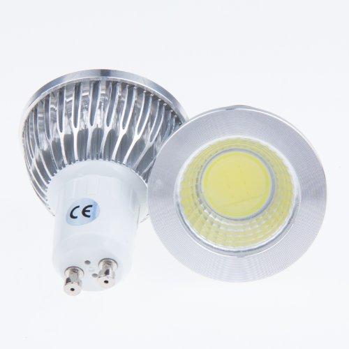 Sunsbell Ultra Bright Cob Led Gu10 Spotlight Bulb Down Light Led Lighting Lamp Cool White 3W 110V