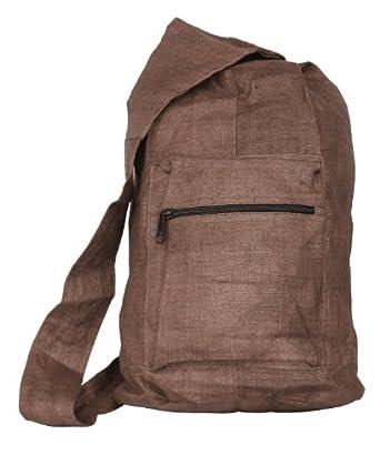 Hemp Courier Bag (brown)