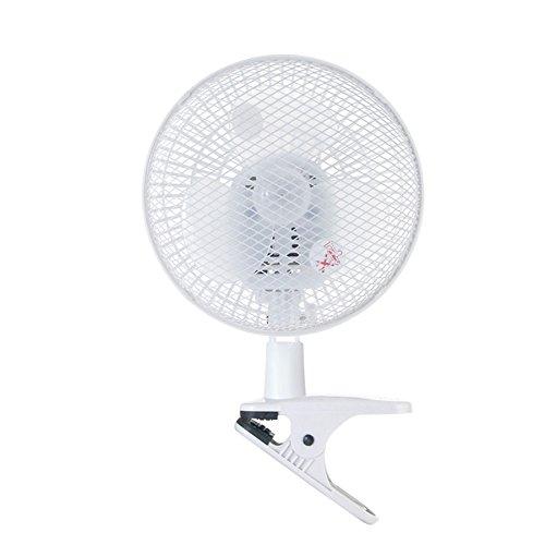 山善(YAMAZEN) 18cmクリップ扇風機 ホワイト YCS-C185(W)