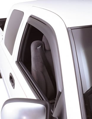 GT Styling 83128 Vent-Gard Window Deflector Snap - 2 Piece