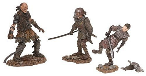 Lord of the Rings Figure 3 Pack: Sam in Orc Armor/Frodo in Orc Armor/Orc Whipmaster