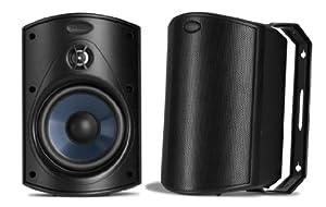 Polk Audio Atrium 4 Speakers (Pair, Black)