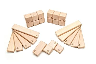 Tegu Discovery Set - Natural - Magnetic Wooden Building Blocks by Tegu