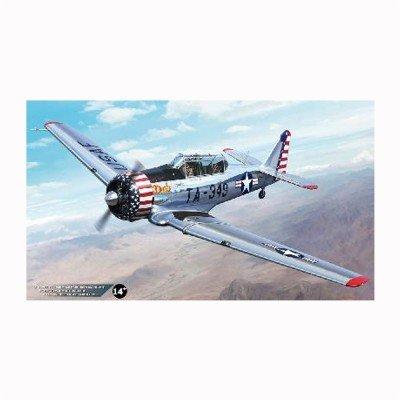 Maquette avion NORTH AMERICAN T-6 TEXAN 1956