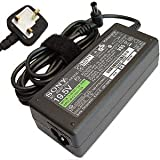 Laptop Adapter Genuine For Sony Vaio Fits PCGA-AC16V6 VGP-AC16V8 VGP-AC16V14 Laptop Ac Adaptor Charger 16v 4a Power Supply + UK Power Cord