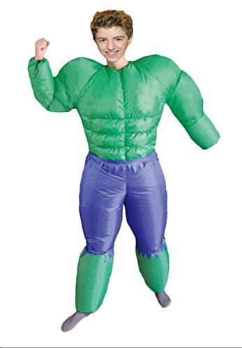 Ace Halloween Kids Children Inflatable Suit the Avenger Hulk Costumes