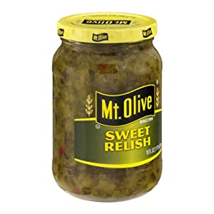 Mt. Olive Sweet Relish, 16 Oz (Pack of 1)