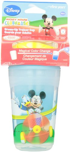 The First Years Grown Up Trainer Cup, Mickey Mouse, 9 Ounce front-421297