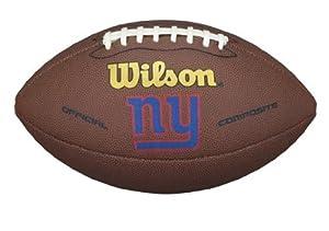 York Giants NFL Composite Wilson Logo Fußball from Wilson