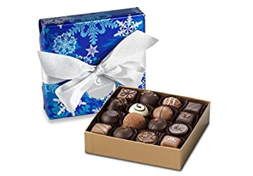 Moonstruck Chocolate 16 pc. Holiday Wrapped Collection