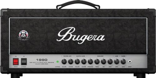 Bugera 1990 Classic 120-Watt Hi-Gain Dual Reverb Valve Amplifier Head