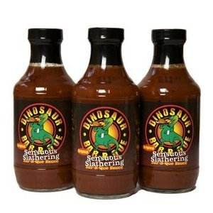 Dinosaur Bar-B-Que (Barbecue/BBQ) Sauce - Original Sensuous Slathering - 19 Oz. (Pack of 3) (Dinosaur Bbq Sauce compare prices)
