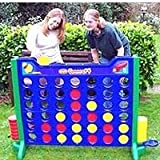 Giant Connect 4 Garden Game