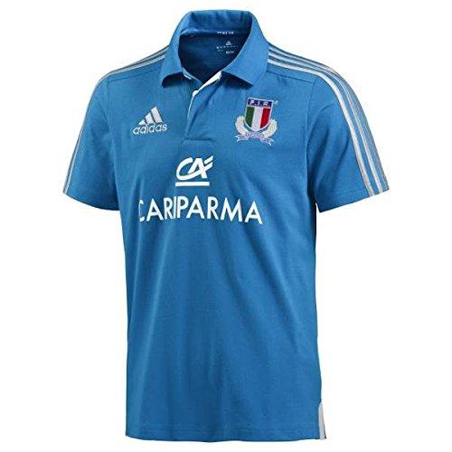 Italia polo rugby Italy FIR Adidas (size S)