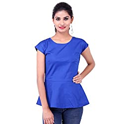 FBBIC Women's Party Wear Attractive Lycra Top
