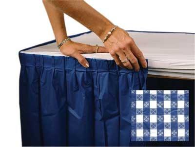 Kwik-Covers Kwik-Skirt Blue Gingham 30 IN X 72 #3072PK-BW-KS - Buy Kwik-Covers Kwik-Skirt Blue Gingham 30 IN X 72 #3072PK-BW-KS - Purchase Kwik-Covers Kwik-Skirt Blue Gingham 30 IN X 72 #3072PK-BW-KS (Kwik-Covers, Home & Garden,Categories,Patio Lawn & Garden,Patio Furniture,Cushions Covers & Pillows,Patio Furniture Covers,Tables)
