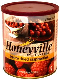 Freeze Dried Raspberries - 8 Ounce Can (Honeyville Freeze Dried Products compare prices)