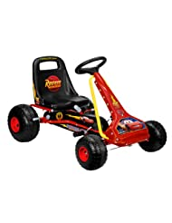 Stamp Disney Cars Go-Kart with Pedals