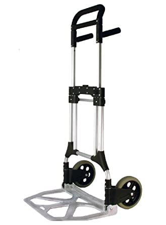RWM Casters FW-90 Aluminum Folding Hand Truck with Loop Handle
