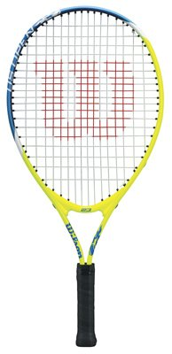 Wilson US Open Junior Tennis Racket, 23-Inch