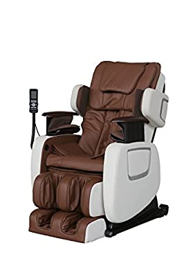 ExacMe Electric Full Body Shiatsu Massage Chair Recliner w/Heat Stretched Foot Rest 7201Br