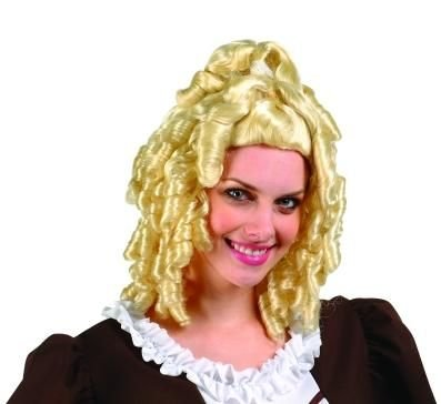 Women's Blonde Colonial Lady Wig
