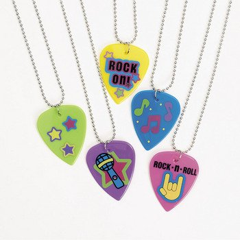 Guitar Pick Necklaces - Novelty Jewelry & Necklaces