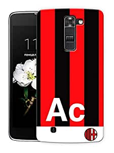 "Milan Colors Printed Designer Mobile Back Cover For ""LG K7"" By Humor Gang (3D, Matte Finish, Premium Quality, Protective Snap On Slim Hard Phone Case, Multi Color)"