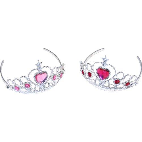 Tiara with Pink Heart Jewel