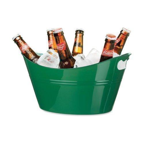 Secchiello porta ghiaccio di plastica 11 litri - Portaghiaccio per bottiglie ...