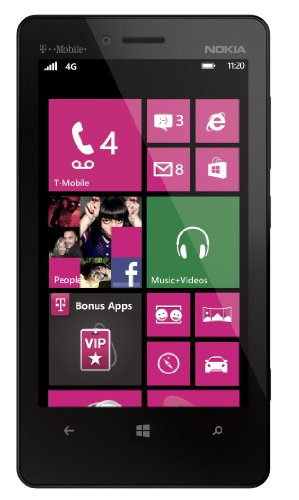 "Nokia Lumia 810 8Gb T-Mobile Phone With Windows 8 Os, 8Mp Camera + Seconday 1.2Mp Camera, Video, Dual-Core Processor, Dolby Sound Enhancement, Nokia Clearblack Display, 4.3"" Amoled Touchscreen, Gps, Wi-Fi, Bluetooth, Mp3/Mp4 Player, Sns Integration And Mi"