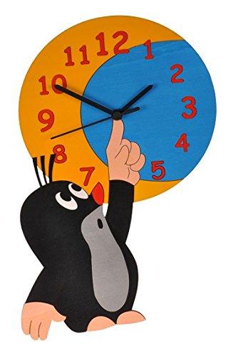 Wanduhr Uhr – der kleine Maulwurf – Kinderzimmer Kinderuhr online kaufen