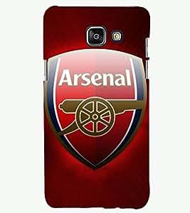 PRINTSHOPPII FOOTBALL FANS Back Case Cover for Samsung A5 2016