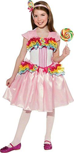 [Lollipop Girl Costume, Large] (Katy Perry Costumes For 10 Year Olds)