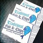 100 x Fish and Chip Cardboard Box/Car...