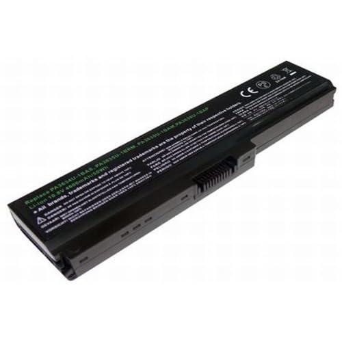 PowerSmart 【松下6セル】東芝 Satellite P750D;Toshiba Dynabook T350、Dynabook B351、Dynabook Qosmio T560、Portege M900、Satellite A665、Satellite C600 シリーズ 対応 互換 ノートパソコン バッテリー 充電池