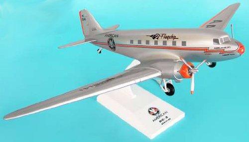 1: 80 スカイマークス アメリカン 航空 DC-3 Flagship Tulsa, with Landing Gear (並行輸入)