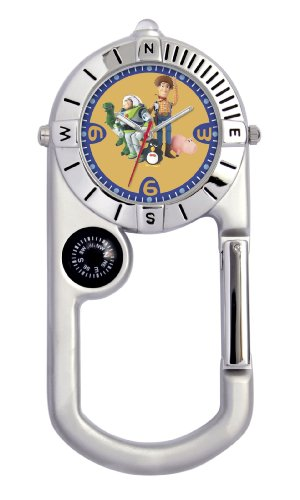 Disney Kids' D477 Toy Story Explorer Clip Watch
