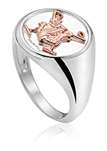 Clogau Gold Wales Polo Ring - Size R