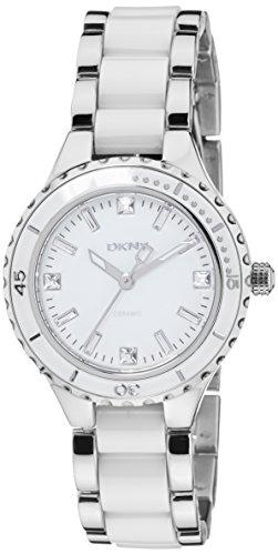 DKNY Ceramic White Dial Women's Watch #NY8498