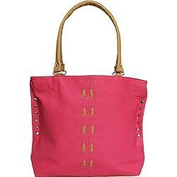 Typify Women's Handbag (Pink,Tbag66)